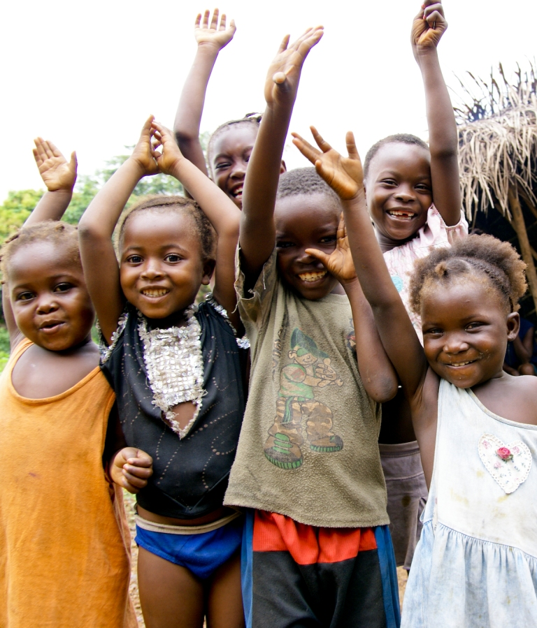 happy smiling kids sierra leone Masanga DSC06889