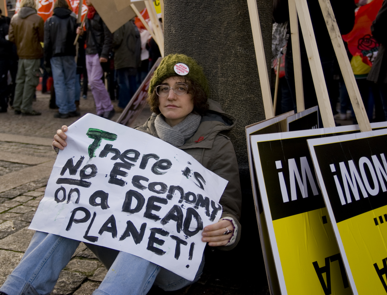 There is no economy on a dead planet