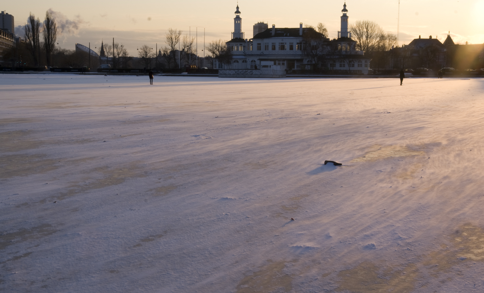 Copenhagen Frozen lakes