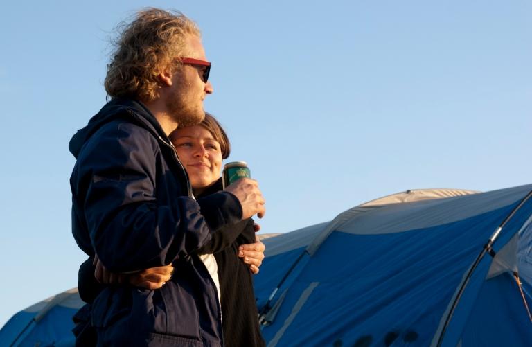 Sunset Roskilde Festival 2010