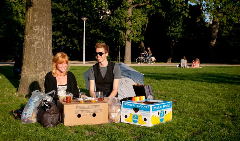 Lovely people in the Park